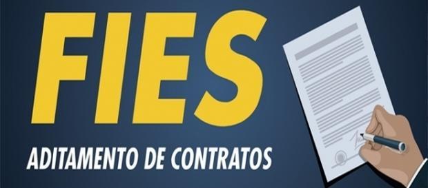 Aditamento de Contrato FIES 2022