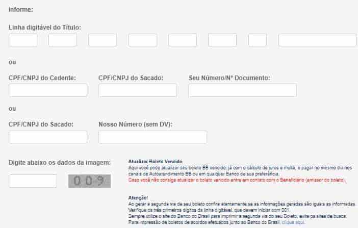 Atualizar Boleto FIES Banco do Brasil